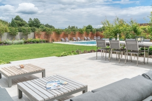outdoor lounge for relaxing and entertaining