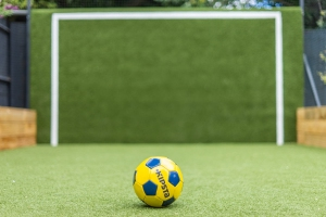 astroturf football pitch