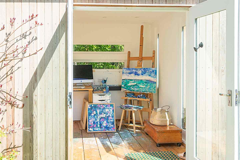 Art studio in garden