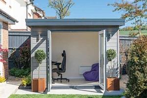 Small garden office