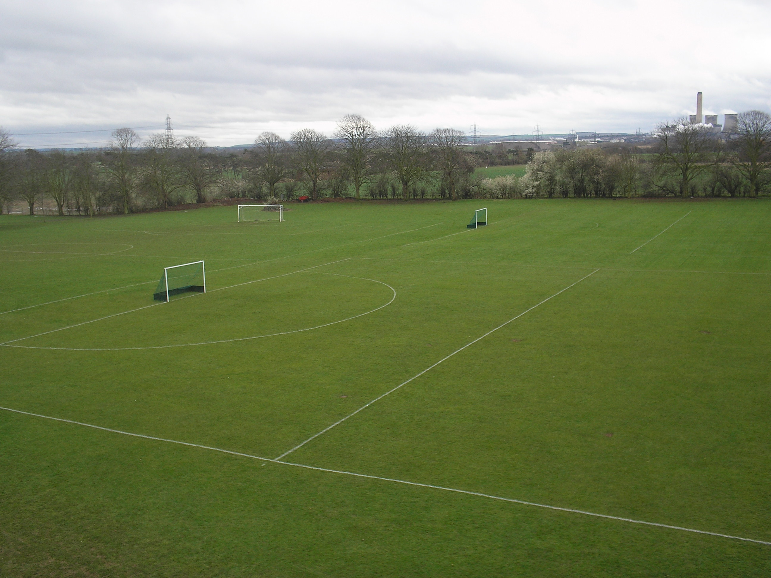 Sports pitches
