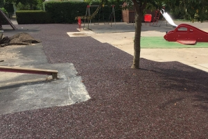 Maintained children's playground