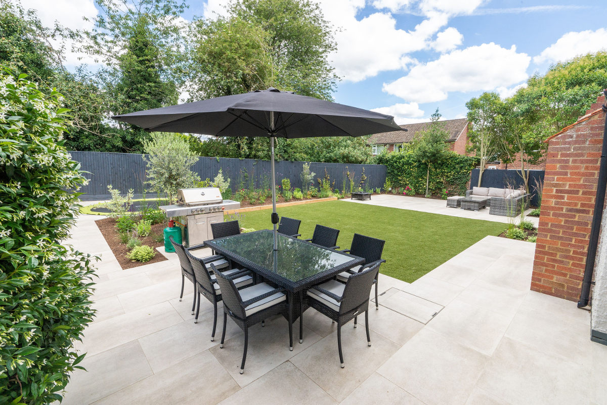 landscaped garden for adults to enjoy