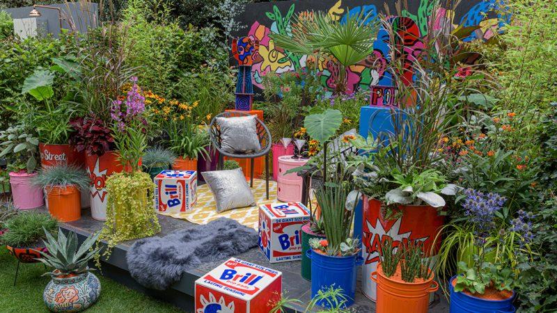RHS Chelsea Flower Show 2021 Pop Street Garden